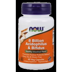 8 Bilion Acidophilus & Bifidus 60vcaps