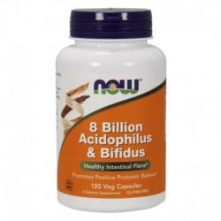 8 Bilion Acidophilus & Bifidus 120vcaps