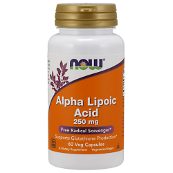 Alpha Liic Acid 250mg 60vcaps
