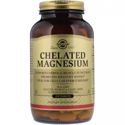 Chelated Magnesium 250 tabs