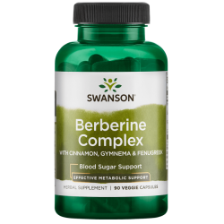 Berberine Complex with Cinnamon, Gymnema & Fenugreek
