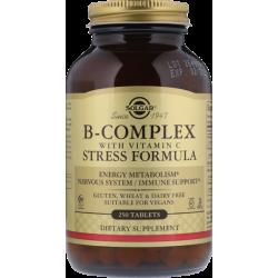 B Complex Stress Formula + vit. C 250 tabs