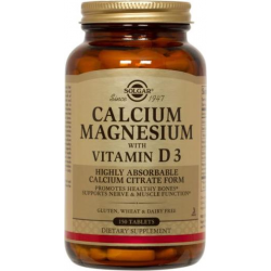 Calcium, Magnesium with Vitamin D3 150 tabs