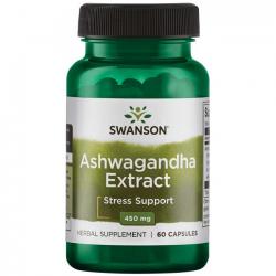Ashwagandha - ekstrakt 450 mg 60 kaps.
