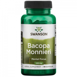 Bacopa Monnieri 250 mg 90 caps