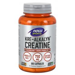 Kre-Alkalyn Creatine Monohydrate 750 mg 120 caps