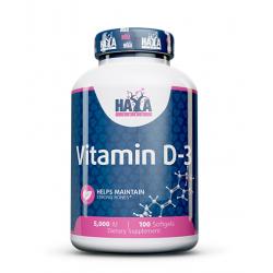 Vitamin D3 5000 IU 100 sgels