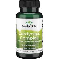 Cordyceps kompleks 600 mg 60 vcaps