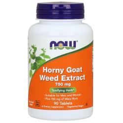 Horny Goat Weed (Epimedium) 750 mg 90 tab.