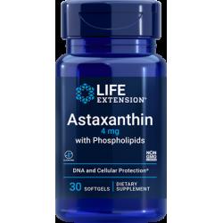 Life Extension Astaksantyna z fosfolipidami 4 mg 30 sgels