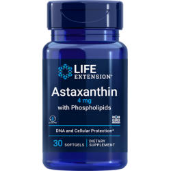 Life Extension Astaxanthin 4 mg 30 sgels