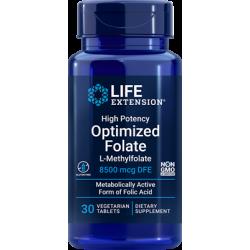 Life Extension Folian 8500 mcg 30 vtabs